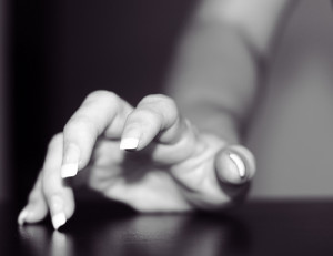 tapping fingers